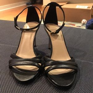 J. Crew Strappy leather sandals, made in Italy